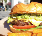 Just one of many amazing burgers to be had.