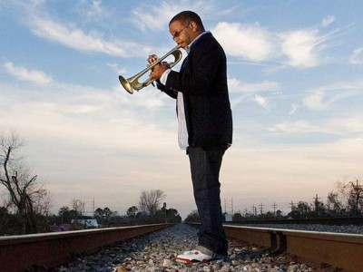 Jazz trumpeter Terence Blanchard performs at Jazz on the Plazz on August 8.